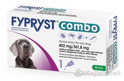 FYPRYST combo 402 mg/361,8 mg PSY NAD 40 KG