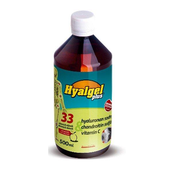 Hyalgel plus 500 ml - príchuť pomaranč
