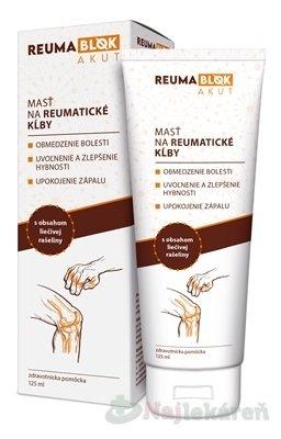 REUMABLOK AKUT - Reumablok Akut masť na kĺby 125 ml