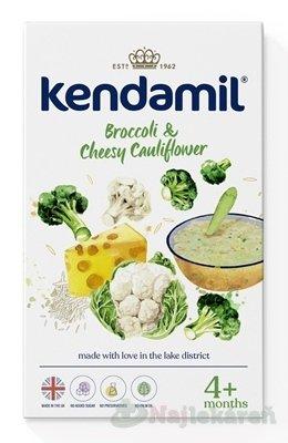 KENDAMIL Jemná kaša brokolica, karfiol so syrom 150g - KENDAMIL Jemná zeleninová kaša so syrom brokolica, karfiol 150 g