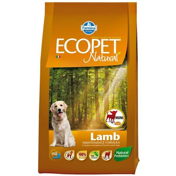 Farmina ECOPET dog adult mini, lamb 2,5 kg