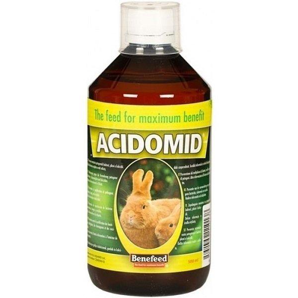 Acidomid K pre králiky 500ml - Aquamid Acidomid K 500 ml
