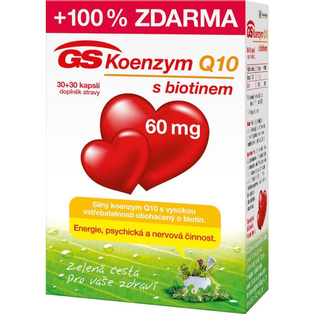 GS Koenzym Q10 60 mg 60 cps.