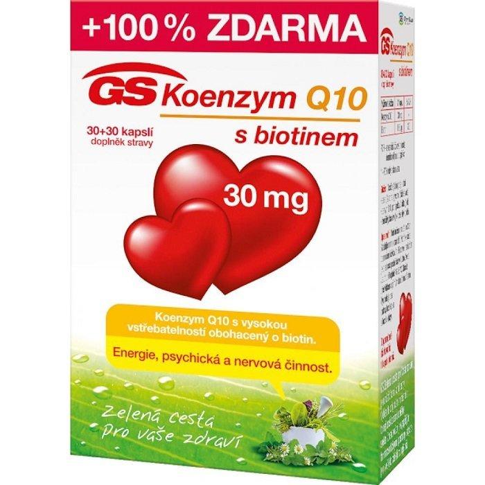 GS Koenzym Q10 30 mg 60 cps.