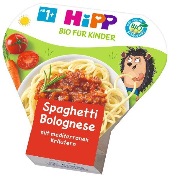 HiPP Bio Príkrm Bolonské špagety 250g - HiPP BIO so zeleninou 250 g