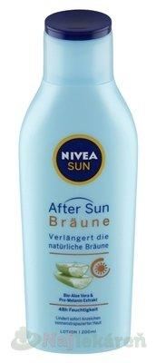 NIVEA SUN Mlieko po opaľovaní Bronze - Nivea Sun Bronze mléko po opalování prodlužující opálení 200 ml