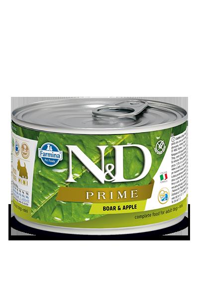 Farmina N&D dog PRIME boar & apple konzerva 140 g
