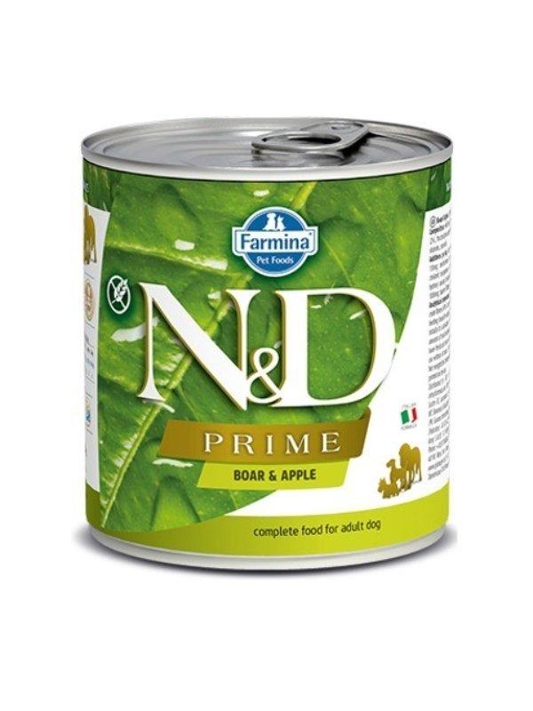 Farmina N&D dog PRIME boar & apple konzerva 285 g