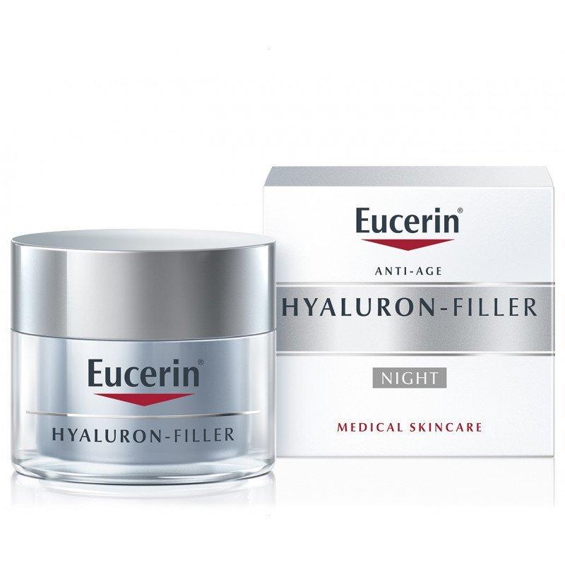 Eucerin Hyaluron-Filler intenzívny vyplňajúci nočný krém proti vráskam 50ml