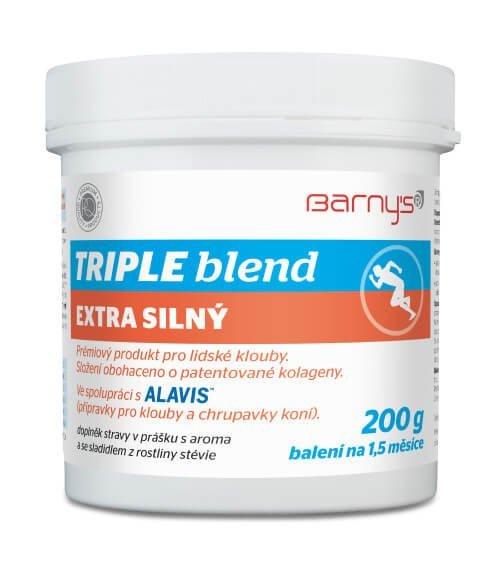 Barny's TRIPLE blend EXTRA SILNÝ 200g - Barny's Triple Blend Extra Silný 200 g