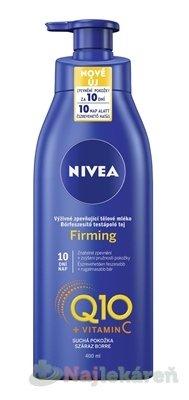 NIVEA Spevňujúce telové mlieko Firming Q10+Vit.C, 400ml