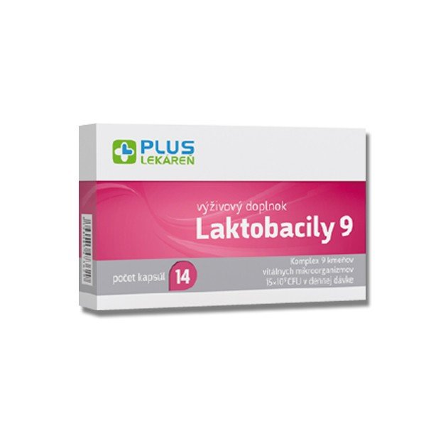Plus Lekáreň Laktobacily 9 14 cps
