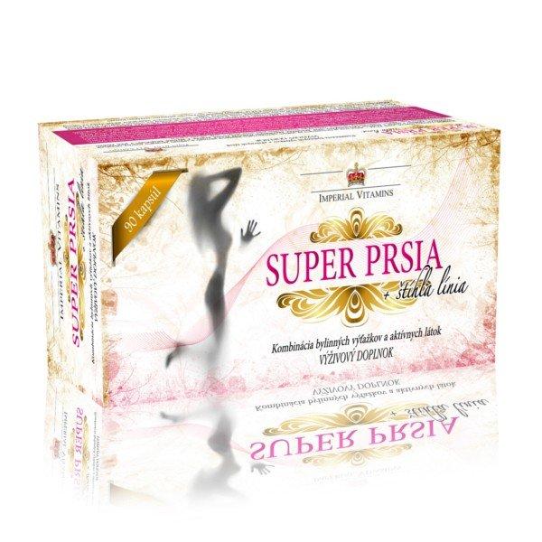 IMPERIAL VITAMINS Super prsia + štíhlá línia pre ženy 90 tabliet
