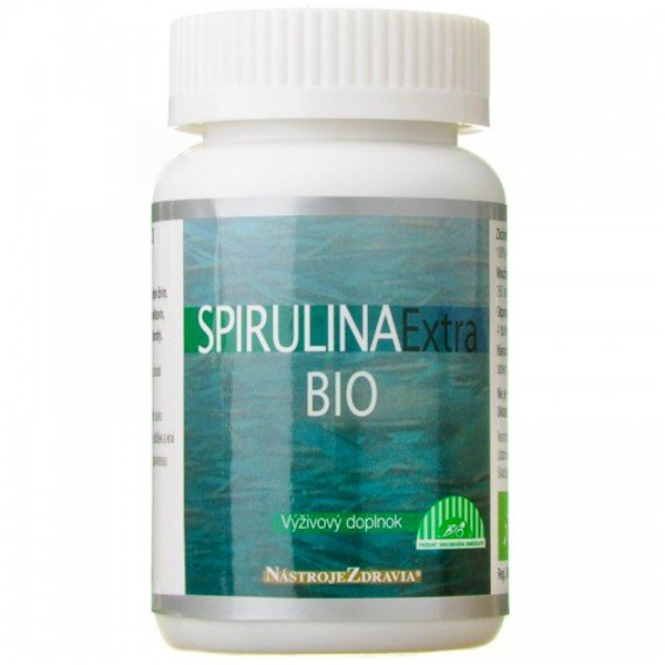 Spirulina extra Bio 100g 400 tabliet