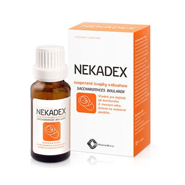 S&D Pharma Nekadex kvapky 10 ml