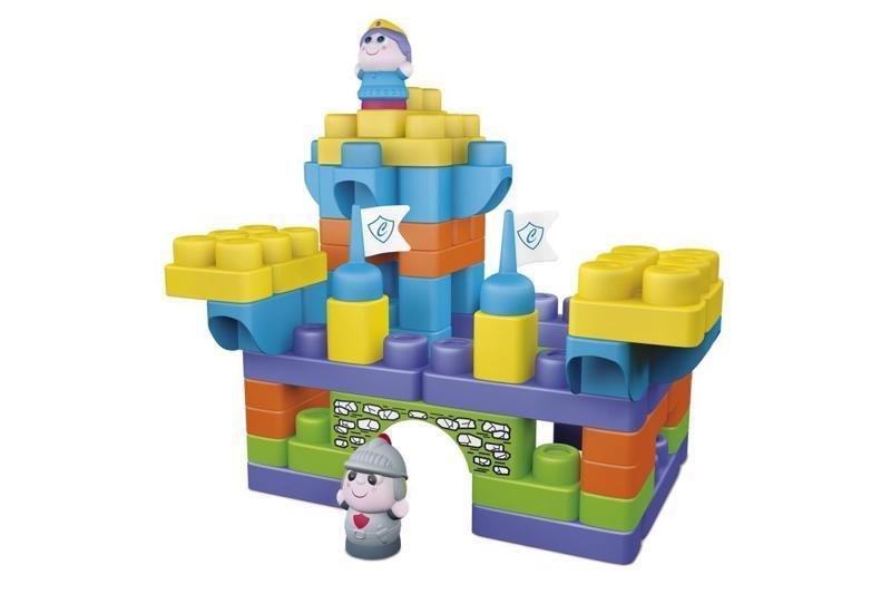 CHICCO Hračka stavebnice App Toys 70ks - Hrad 1+