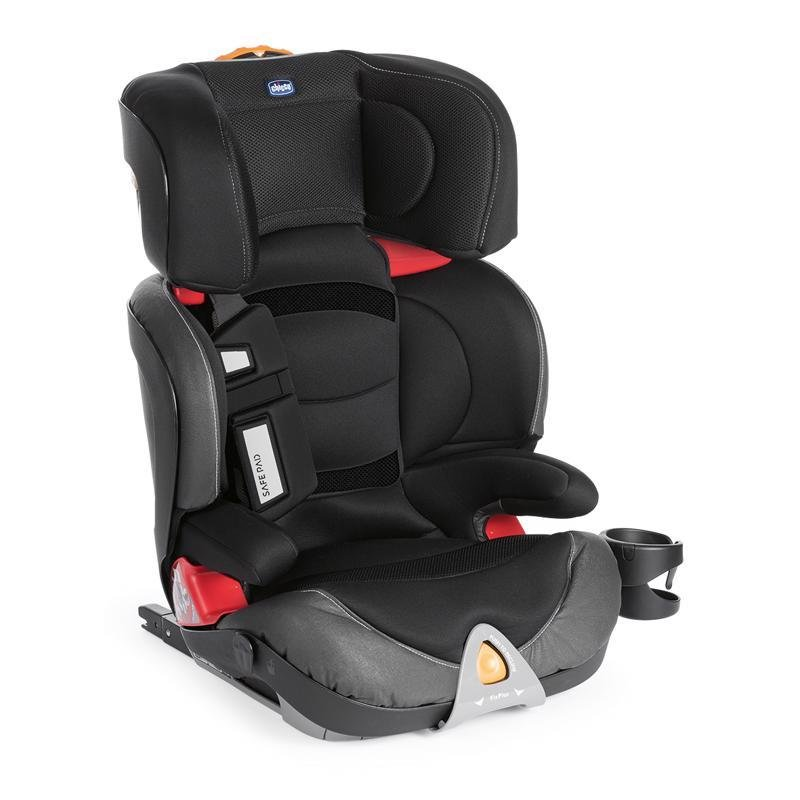 Autosedačka Oasys 2-3 FixPlus Evo - Jet Black 15-36kg - Chicco Oasys 2-3 FixPlus Evo 2018 Jet Black