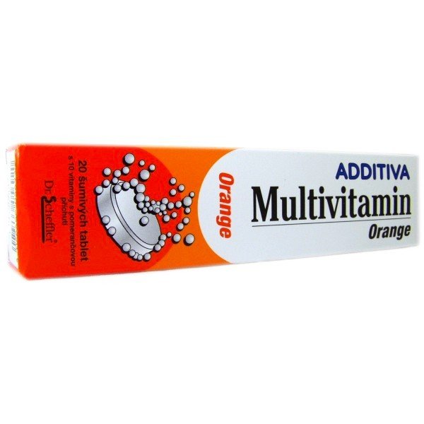 Additiva multivitamin orange eff 20 tbl