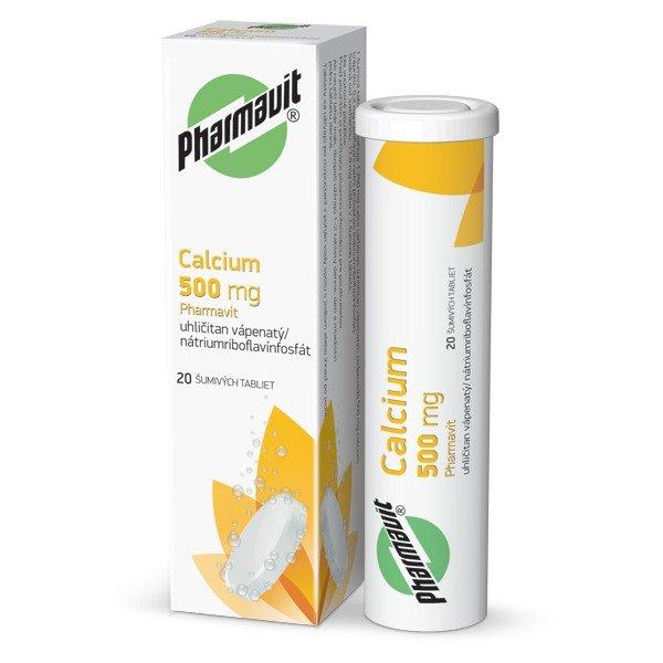 Calcium 500mg 20tbl - Calcium 500mg Pharmavit tbl.eff.20 x 500mg