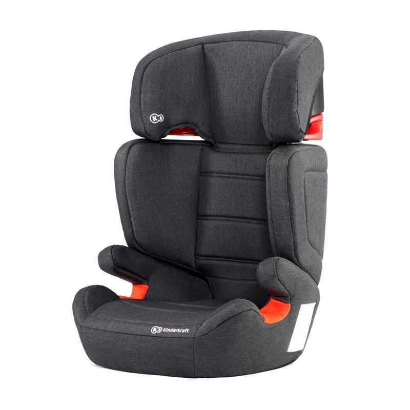 KINDERKRAFT Autosedačka Junior Fix Isofix Black 15-36 kg - Kinderkraft Junior-Fix Isofix 2019 Black