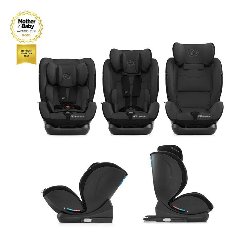 KINDERKRAFT Autosedačka MyWay Isofix Black 0-36 kg - Kinderkraft MyWay Isofix 2020 black