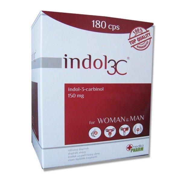 Indol 3C proti HPV 180 cps
