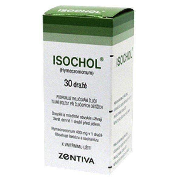 Isochol 400 mg 30 tbl