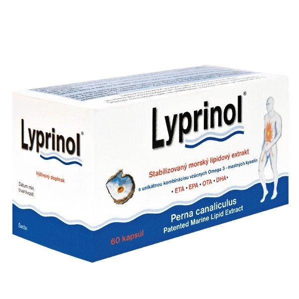 Lyprinol 240 mg 60 kapsúl - Lyprinol lipidový extrakt p60 kapsúl