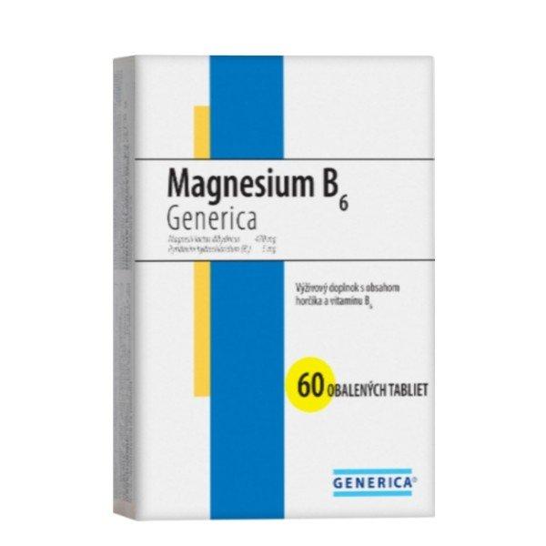 Generica Magnesium B6, 60tbl