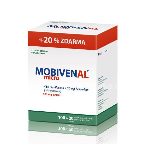 VULM Mobivenal micro 120 tbl.