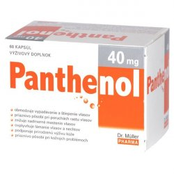 Panthenol 40 mg 60 kapsúl