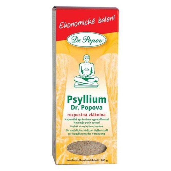 Psyllium Dr. Popova - rozpustná vláknina 200g