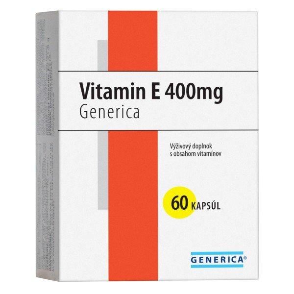 Generica Vitamín E 400mg 60cps