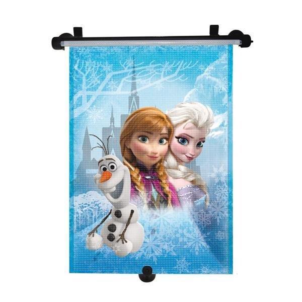Tienidlo na okno auta sťahujúce 1 ks Frozen - MARKAS Tienidlo na okno auta sťahujúce 1 ks Frozen