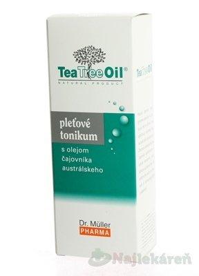 Dr. Müller Tea Tree Oil PLEŤOVÉ TONIKUM - Dr. Müller Tea Tree Oil pleťové tonikum 150 ml