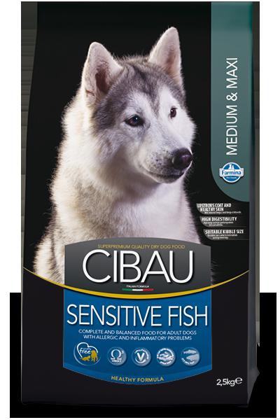 Farmina MO SP CIBAU dog adult medium & maxi, sensitive fish 2,5 kg