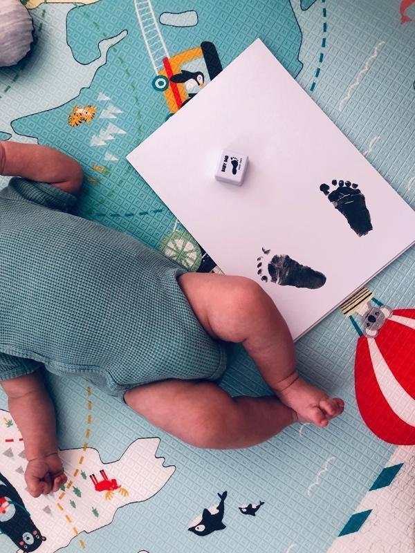 BABY DAB Farba na detské odtlačky - fialová - Baby Dab Farba na detské odtlačky fialová