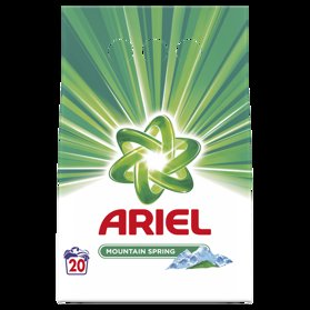 ARIEL Mountain Spring prací prášok (20 praní) 1.5 kg