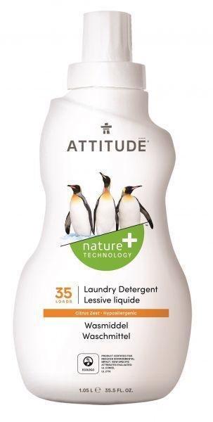 ATTITUDE Prací gél s vôňou citrónovej kôry 1050 ml (35 praní)