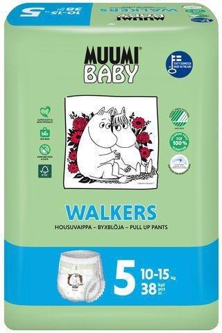 MUUMI Nohavičky plienkové jednorázové 5 Maxi+ 10-15kg 38ks Baby