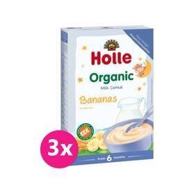 3x HOLLE Kaša mliečna Bio banánová 250 g