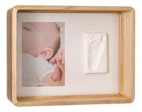 BABY ART Rámček na odtlačky a fotografiu Deep Frame Wooden