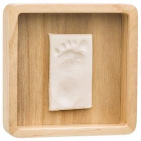 BABY ART Rámček na odtlačky Magic Box - square Wooden