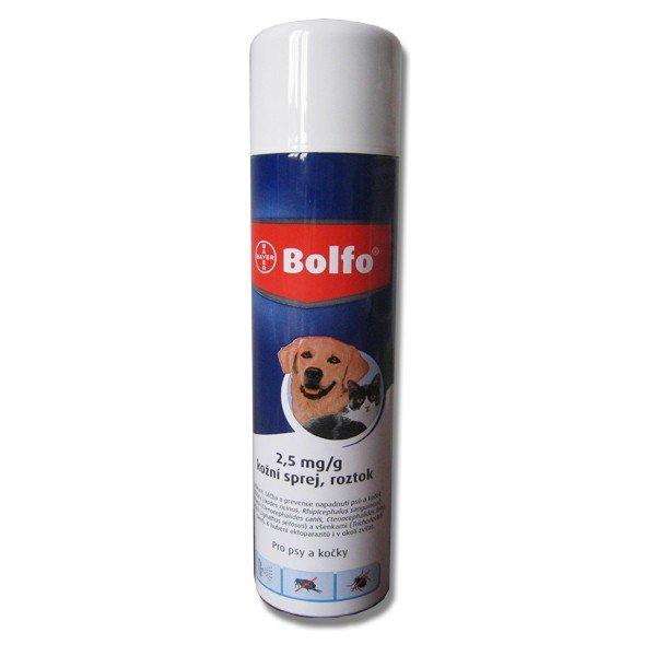 Sprej Bolfo pre psy a mačky 250 ml