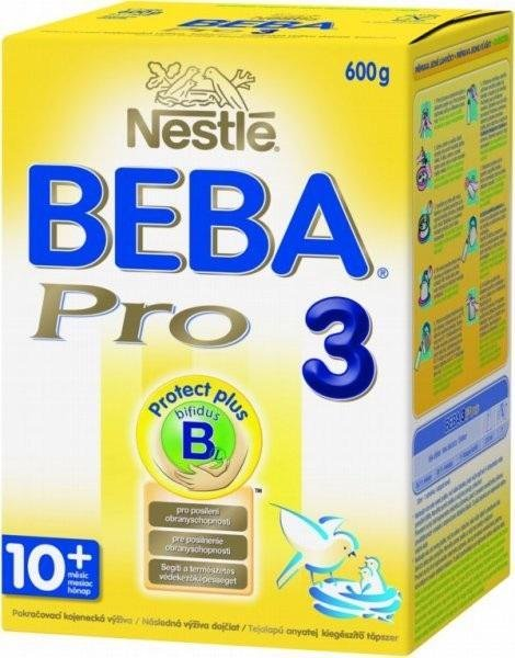 BEBA OPTIPRO 3, Mlieko batoľacie 600 g