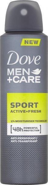DOVE Deo sprej Men+Care Active Fresh 150ml