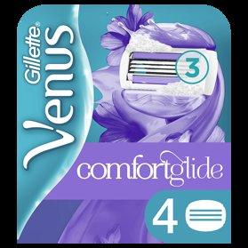 GILLETTE Venus ComfortGlide Breeze CRT 4 ks - náhradné hlavice