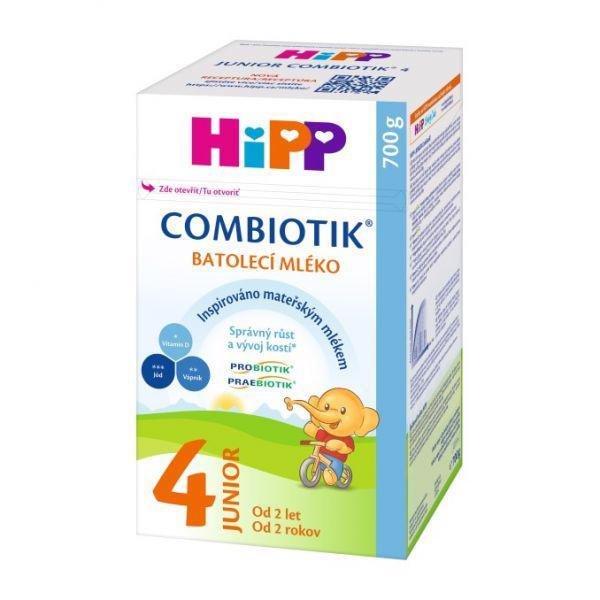 HiPP Mlieko dojčenské 4 batoľacie Junior Combiotik 700g