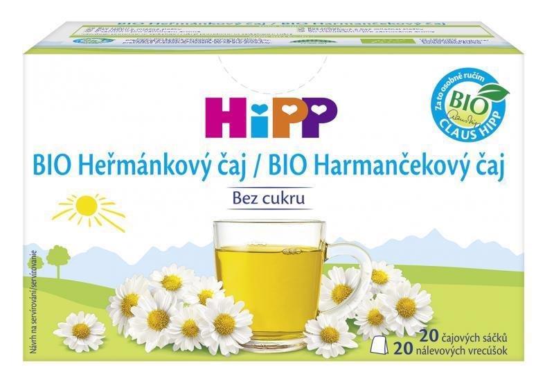 HiPP Čaj BIO harmančekový 20x1,5g