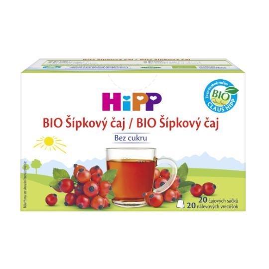Čaj BIO šípkový 20x2g Hipp